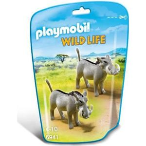 FIGURINE - PERSONNAGE PLAYMOBIL 6941 Phacochères