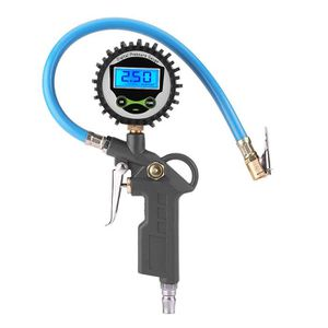 CONTRÔLEUR DE PRESSION 0-220PSI Jauge Indicateur de pression de Pneu Auto