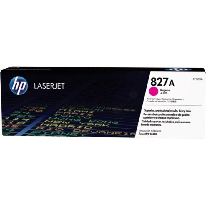 HP Cartouche de toner 827A original - Magenta