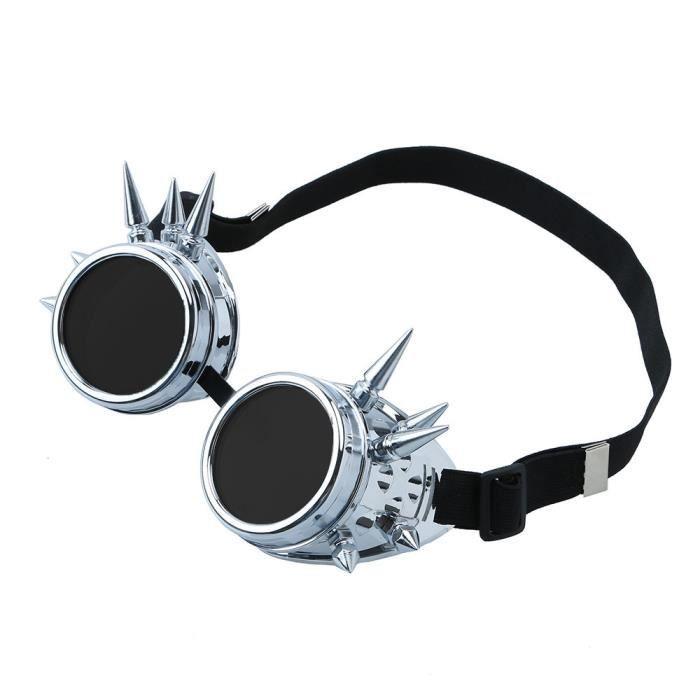Napoulen®Vintage victorienne steampunk lunettes de soudage cyber punk gothique cosplay XXP71231426