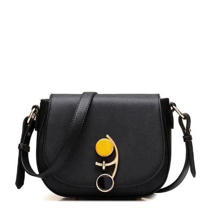 0921b110e7 ... en cuir Filles Messenger sacs dames de haute qualité Fourre-Tout  Pochette style d'été. SACOCHE YOYOO noir Femmes Sac Célèbre Sac À Main ...