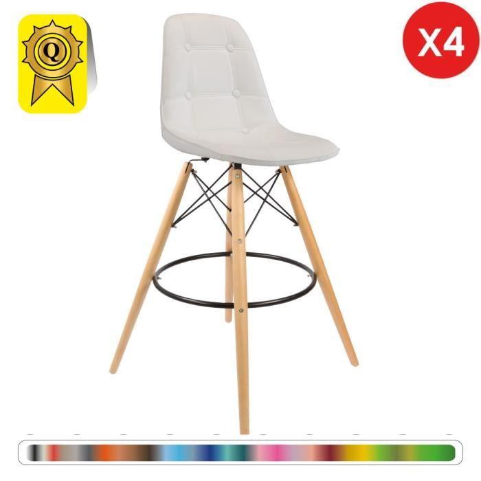 chaise de bar 4 pas cher