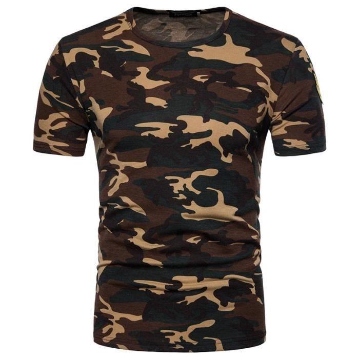 f14c7d5f76142 Tee shirt militaire - Achat / Vente pas cher