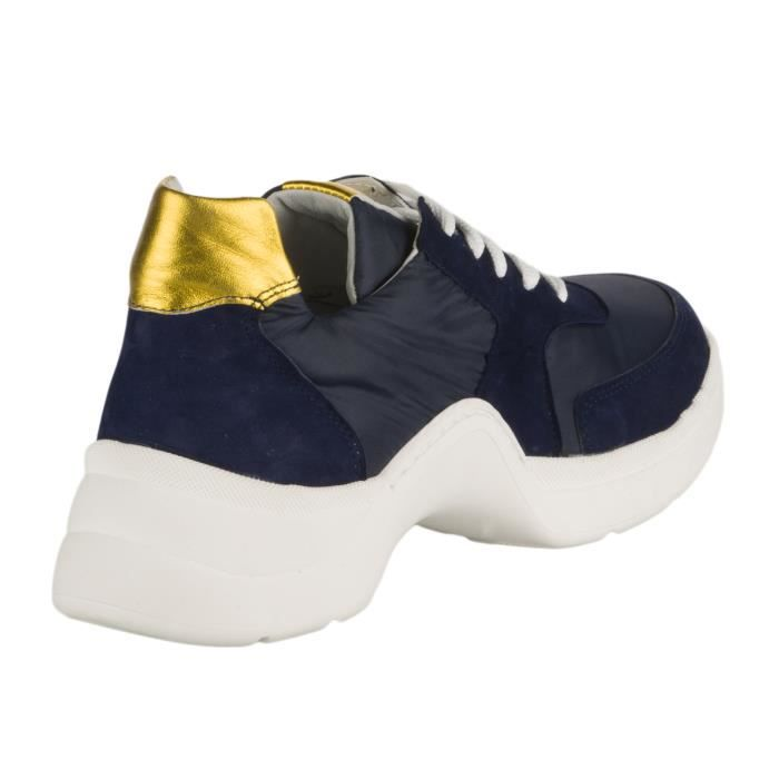BASKET Baskets mode femme - MIGLIO - Bleu marine - 40