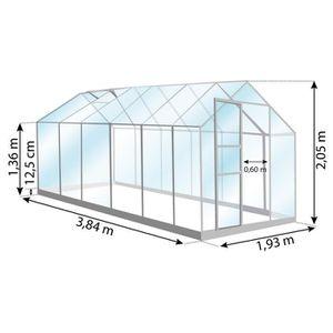 Serre de jardin en verre - Achat / Vente Serre de jardin en ...