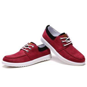 Hommes léger respirant chaussures de toile classique chaussures de sneakers chaussures baskets de relaxation bleu chaussures Lazy EXXqqCN