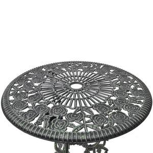 Salon jardin fonte aluminium - Achat / Vente pas cher