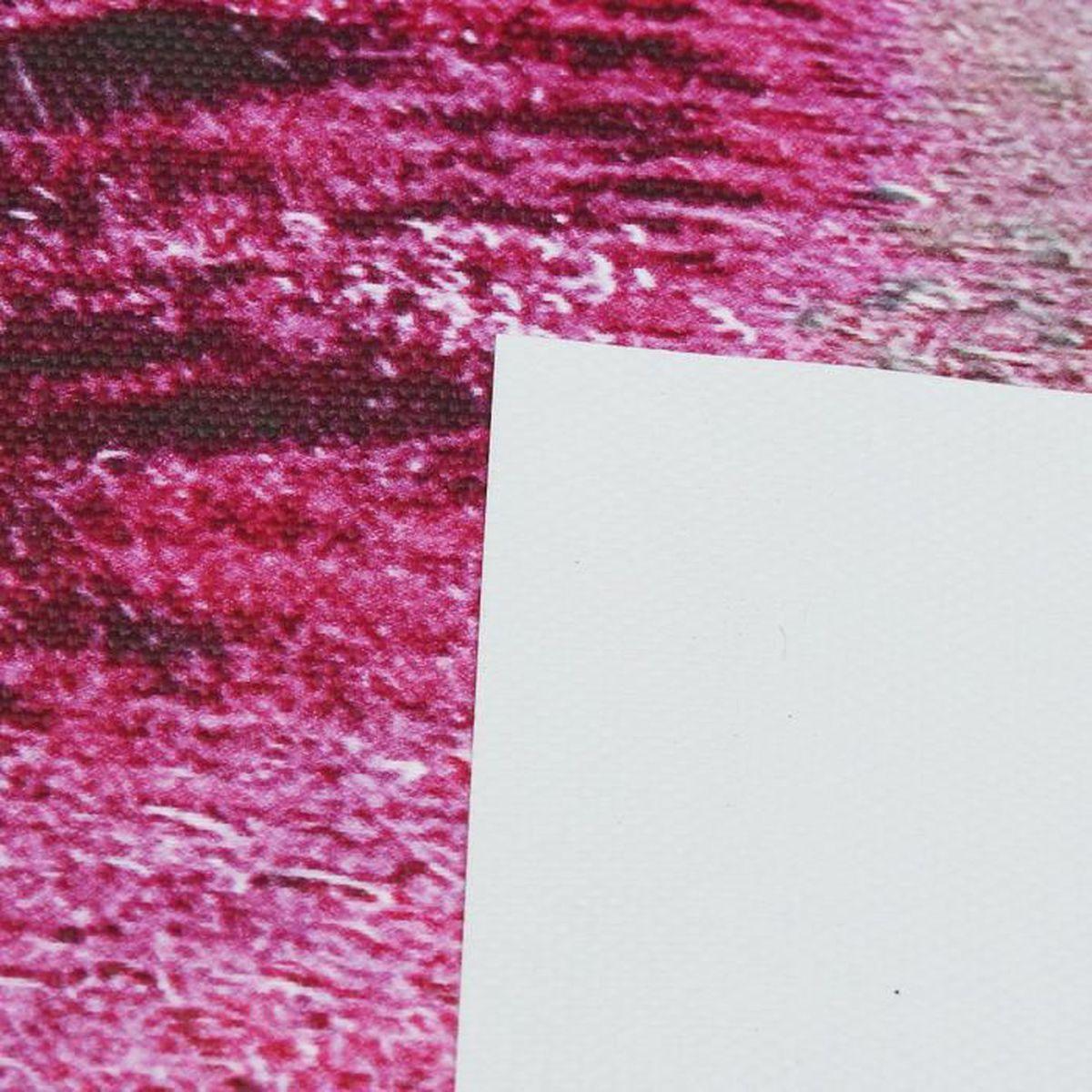 5pcs tableau huile toile arbre violet moderne art décor muraux