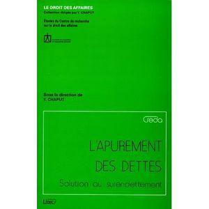 Carte Cdiscount Et Surendettement.L Apurement Des Dettes Solution Au Surendettement Achat
