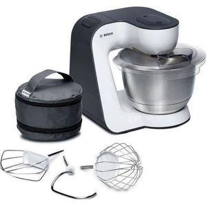 BOSCH MUM54A00 Robot pâtissier multifonction ? 3,9L ? 7 vitesses + Pulse - Noir/Blanc