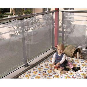 BARRIÈRE DE SÉCURITÉ  Filet de protection - Transparent (29*118inch)