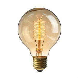 AMPOULE - LED E27 Edison Ampoule 40W 220V G80 Ampoules Vintage P