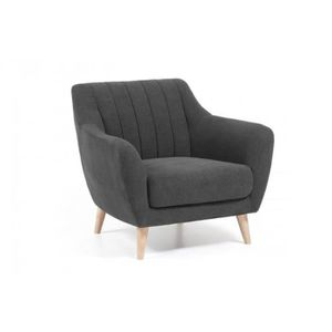 Scandinave Anthracite Fauteuil Design Confort Achat Vente O0wP8nk