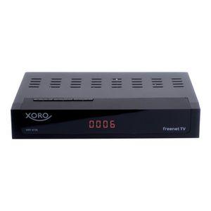 RÉCEPTEUR - DÉCODEUR   Xoro HRT 8730 Récepteur multimédia numérique noir