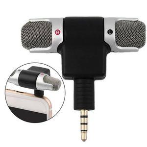 CASQUE AVEC MICROPHONE Mini microphone stéréo portable 3.5mm pour MP3 - M