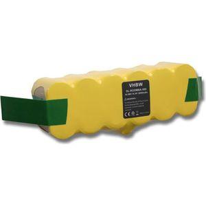 PIÈCE ENTRETIEN SOL  Batterie NI-MH 3000mAh 14.4V pour  iRobot Roomba 5