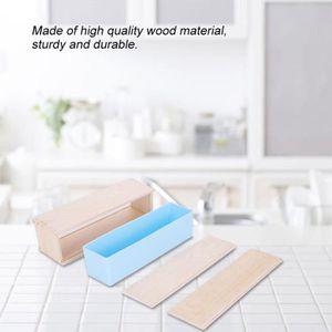 Moule à savon Moule à savon DIY Boîte en bois bricolage revêteme