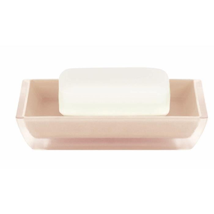 SPIRELLA Porte savon Freddo - 2,3x12,5x8,6cm - Beige clair