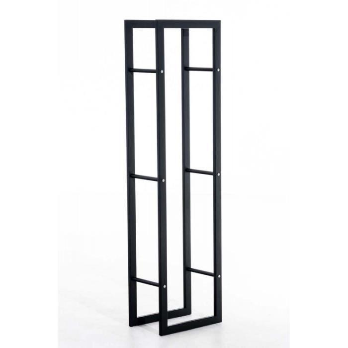 rangement buches de bois achat vente pas cher. Black Bedroom Furniture Sets. Home Design Ideas
