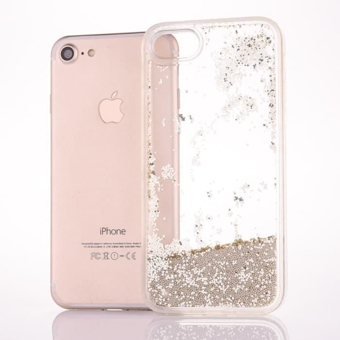 coque paillette or iphone 6