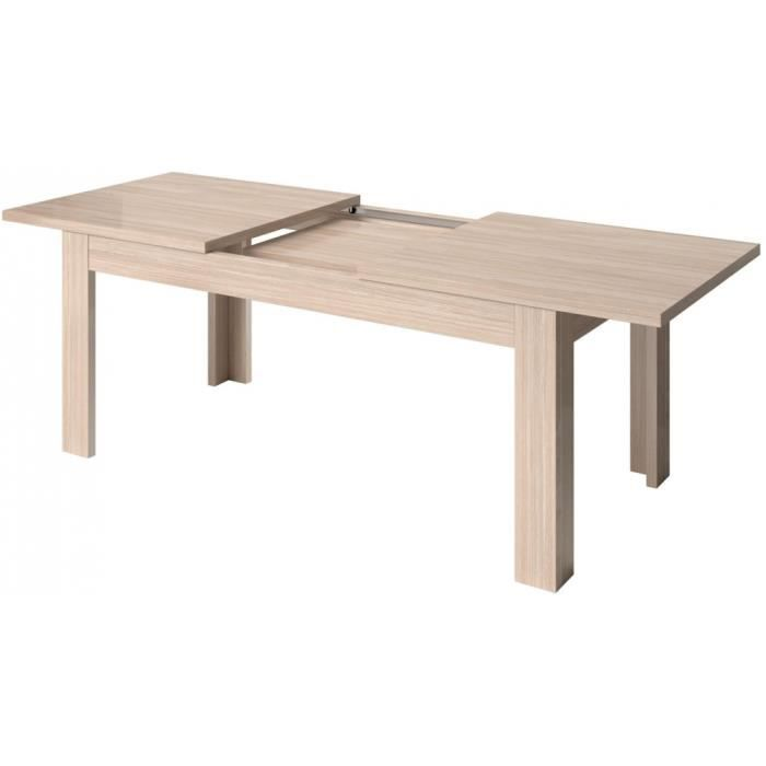 Table de salle à manger extensible contemporaine v