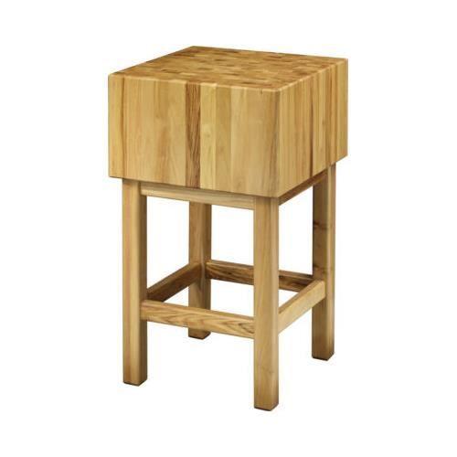 bois bloc de boucher planche a decouper 50x50 epaisseur 25 rs0588 achat vente planche a. Black Bedroom Furniture Sets. Home Design Ideas