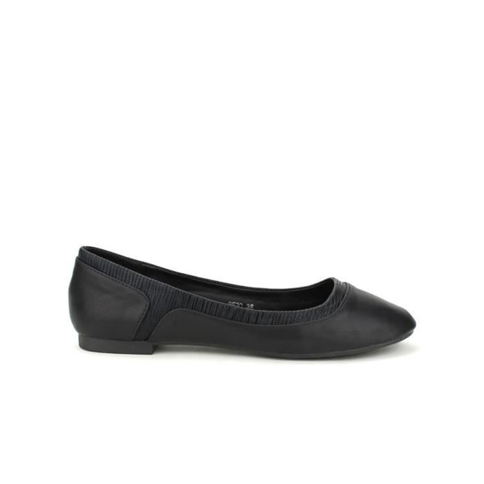 Chaussures Femme Cendriyon Ballerines Noir Ballerine R4qSwEgW