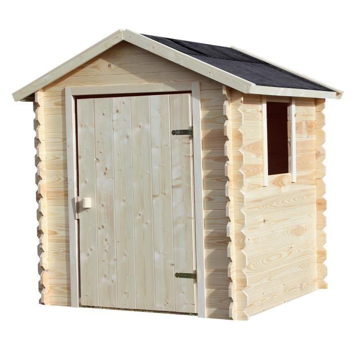 cabane de jardin enfant en bois achat vente jeux et jouets pas chers. Black Bedroom Furniture Sets. Home Design Ideas