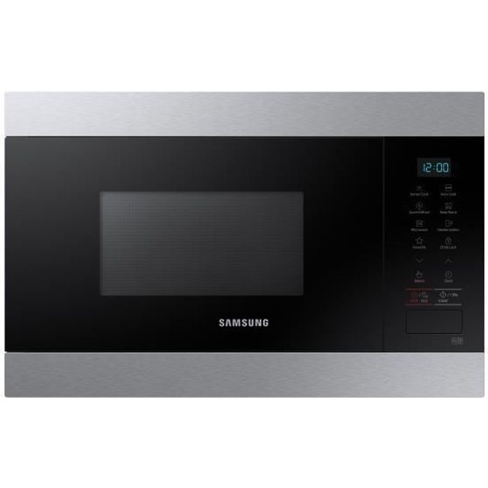 samsung ms22m8074at micro ondes encastrable solo micro ondes. Black Bedroom Furniture Sets. Home Design Ideas
