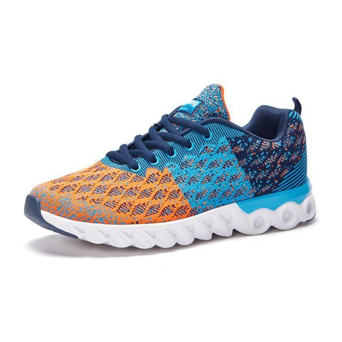 Chaussures de sport pour hommes Chaussures de course en maille respirante