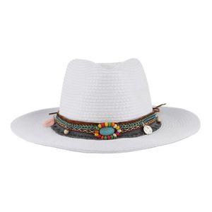... CHAPEAU - BOB EOZY Chapeau de Paille Femme Homme Chapeau de Cow- ... 00535cd3389
