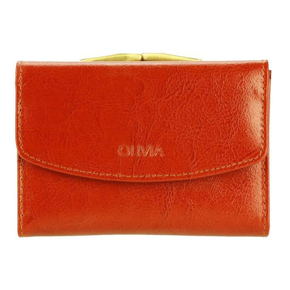 Portefeuille femme en cuir 15 cm achat vente pas cher - Porte monnaie texier femme ...