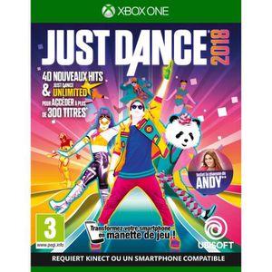 JEU XBOX ONE Just Dance 2018 Jeu Xbox One