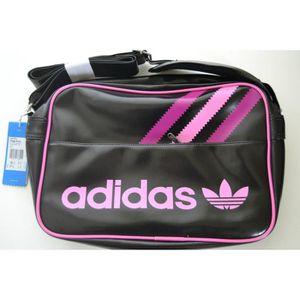 sac a bandouliere adidas noir et rose