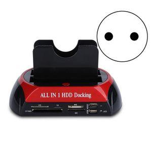 LECT. INTERNE DE CARTE SATA Disque Dur Dock Double lecteur de disque dur