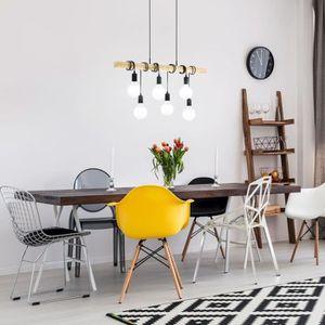 PLAFONNIER Magnifique EGLO Lampe suspendue TOWNSHEND Noir et 7b456b9ef755