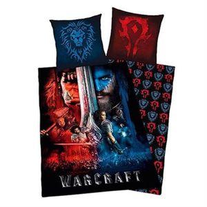 HOUSSE DE COUETTE SEULE Warcraft housse de couette 200X140