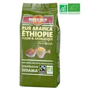 CAFÉ - CHICORÉE ALTER ECO Café Ethiopie 100% Arabica Bio 260g