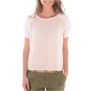 Transparent T Femme T Shirt Shirt Femme Echancre rdxsQBthC
