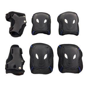 KIT PROTECTION TARION Kit de protections(Noir et belu) de skatebo