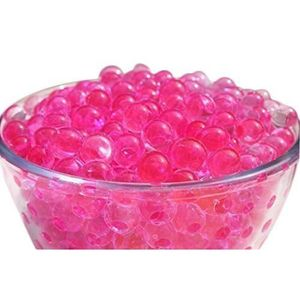 BILLES - PERLES DÉCO Perles Billes Gel Cristal Eau Rose Vif Pour Vase P