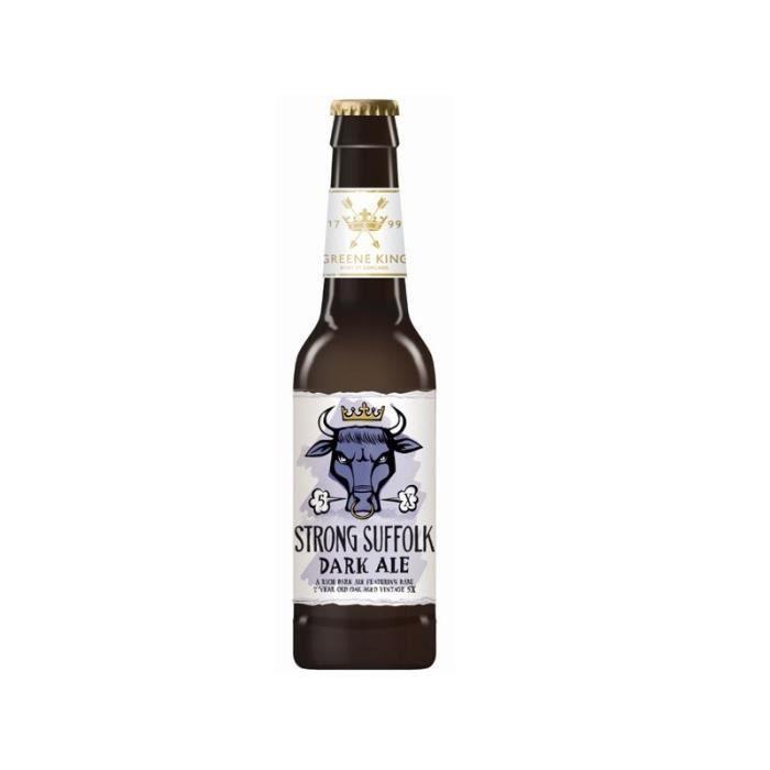GREENE KING CRAFT STRONG SUFFOLK Bière Brune 0,33 L