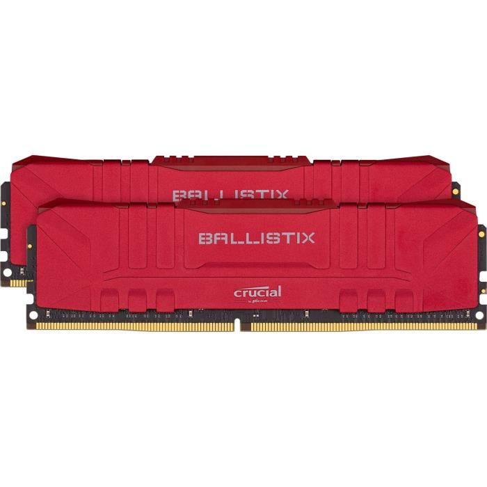 CRUCIAL Ballistix Red 2x8GB (16GB Kit) DDR4 3200MT/s  CL16