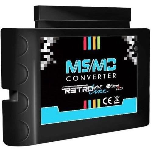 Adaptateur cartouches MS-MD Steelplay pour Megadrive