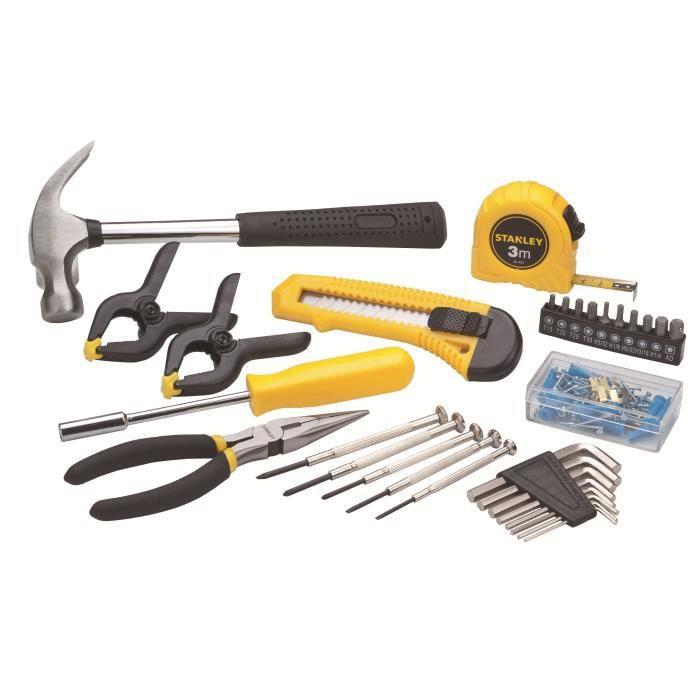STANLEY Coffret outils 80 pièces