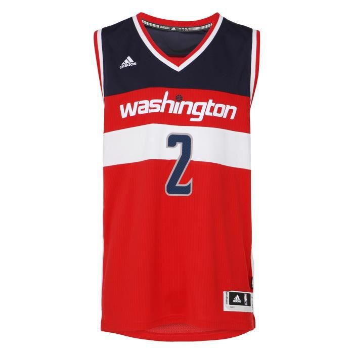 brand new 8763c 0c38f ADIDAS PERFORMANCE Maillot NBA Replica Washington Wizard  2 John Wall Homme  BKT