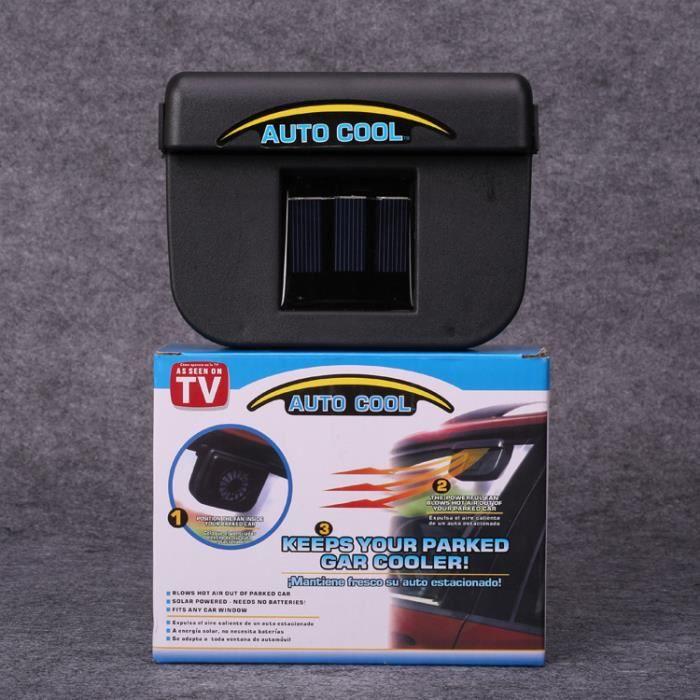ventilateur solaire voiture achat vente ventilateur solaire voiture pas cher cdiscount. Black Bedroom Furniture Sets. Home Design Ideas