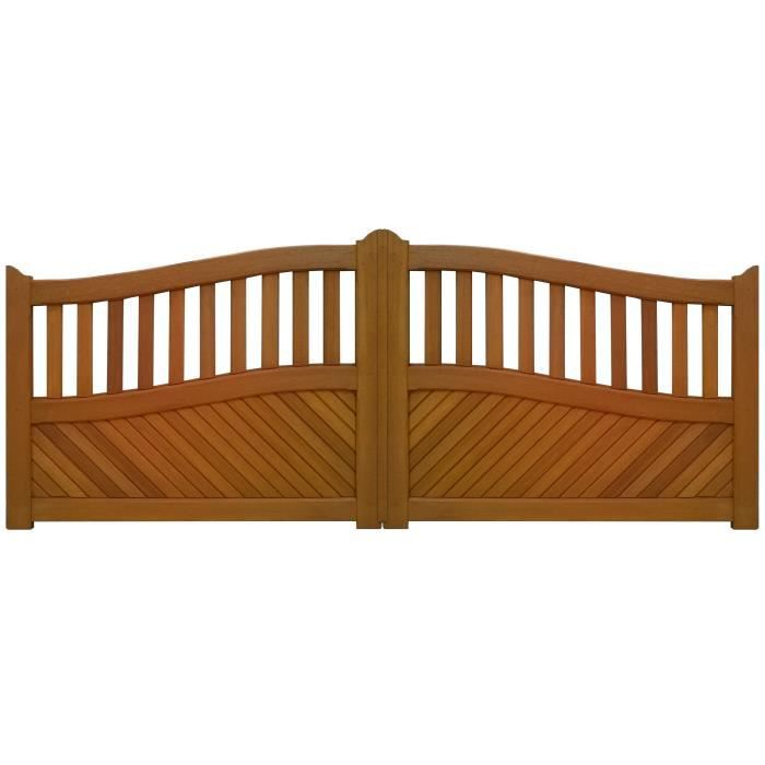 portail bois 50sv achat vente portail portillon portail bois 50sv cdiscount. Black Bedroom Furniture Sets. Home Design Ideas