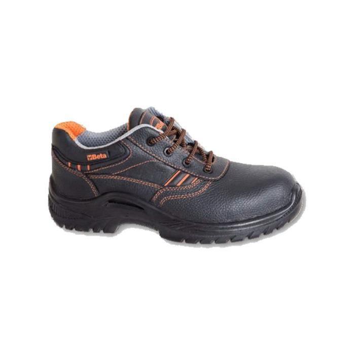 Chaussure basse type Derby S3 7200BKK44 BETA 072000244 44 Noir 0UmyEd