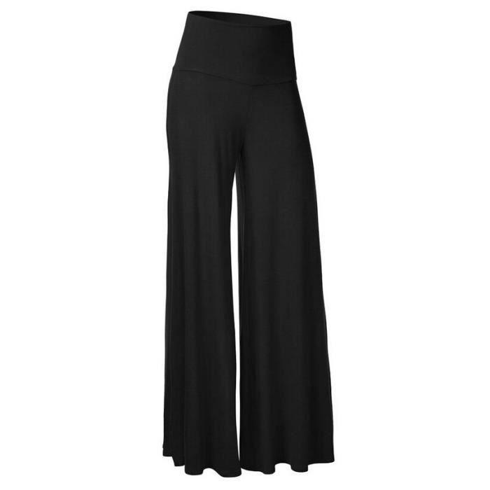 60edf1ed3a9 Pantalon large fluide femme - Achat   Vente pas cher
